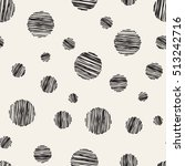 vector seamless pattern. casual ... | Shutterstock .eps vector #513242716