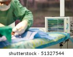 surgical procedure at a... | Shutterstock . vector #51327544