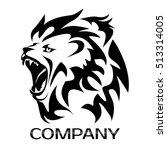 lion head logo | Shutterstock .eps vector #513314005