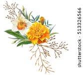 illustration of beautiful... | Shutterstock . vector #513326566