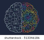 conceptual illustration of the... | Shutterstock .eps vector #513346186