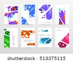 annual report brochure template ... | Shutterstock .eps vector #513375115