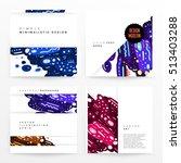 annual report brochure template ... | Shutterstock .eps vector #513403288
