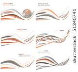 abstract world globe... | Shutterstock .eps vector #51340741
