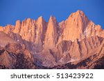 Mount Whitney In The Eastern...