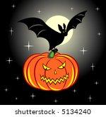 halloween. | Shutterstock .eps vector #5134240