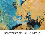 artists oil paints multicolored ... | Shutterstock . vector #513443935