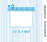 baby frame for text or photo | Shutterstock .eps vector #51344986