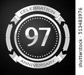 ninety seven years anniversary... | Shutterstock .eps vector #513483976
