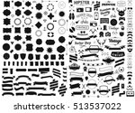 set of vintage styled design... | Shutterstock .eps vector #513537022