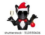 Santa Claus French Bulldog Dog...