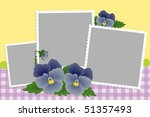 Blank Template For Photo Frame...