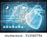 media medicine background image ... | Shutterstock . vector #513585796