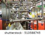 milk pasteurization system is... | Shutterstock . vector #513588745
