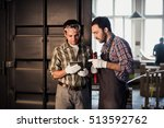 profession  technology and... | Shutterstock . vector #513592762