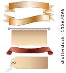 banners vector | Shutterstock .eps vector #51367096