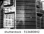 black and white images of... | Shutterstock . vector #513680842