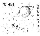 Vintage Astronomy  Stars  Moon...