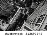 top view from the skyscraper to ... | Shutterstock . vector #513693946
