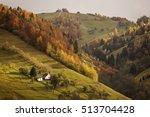 autumn landscape hills in... | Shutterstock . vector #513704428