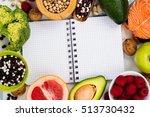 healthy food concept. food good ...   Shutterstock . vector #513730432
