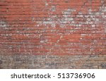 Red Weathered Brick Wall...