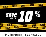 big sale banner with yellow...