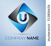 letter u vector logo symbol in... | Shutterstock .eps vector #513806656