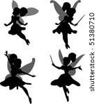 little fairy | Shutterstock .eps vector #51380710