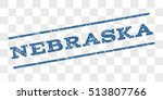 nebraska watermark stamp. text... | Shutterstock .eps vector #513807766