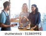 Customer Making Payment Throug...