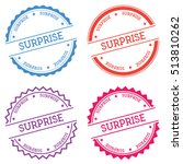 surprise badge isolated on... | Shutterstock .eps vector #513810262