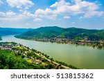 the danube bend viewed from... | Shutterstock . vector #513815362