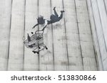 Banksy Graffiti On The Side Of...