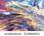 cold multicolor winter pattern. ... | Shutterstock . vector #513866812