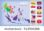 Map Of Aec Asean Economic...