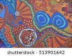 Colorful Ethnic Aboriginal...