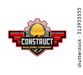 building company logo template | Shutterstock .eps vector #513955555