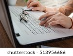 business accounting  | Shutterstock . vector #513956686