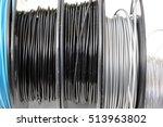 3d printing filament spool | Shutterstock . vector #513963802