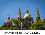 guadalajara cathedral  ...   Shutterstock . vector #514012258