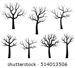 Vector Bare Tree Silhouettes ...