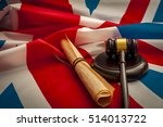 Union Jack  A Gavel And The...