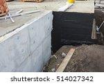 waterproofing foundation... | Shutterstock . vector #514027342