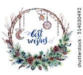 Watercolor Boho Christmas...