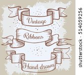 old hand drawn banner to...   Shutterstock .eps vector #514059256