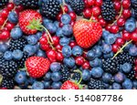 berries variety   berries... | Shutterstock . vector #514087786
