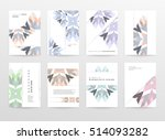 geometric background template... | Shutterstock .eps vector #514093282