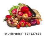 Group Of Fruits  Vegetables And ...