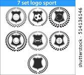 sport logo design illustration... | Shutterstock .eps vector #514136146